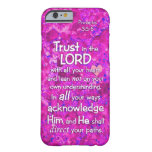 Proverbs 3:5-6 Trust in the Lord Bible Verse Quote Barely There iPhone 6 Case