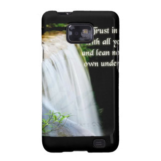 Proverbs 3:5 galaxy SII cases