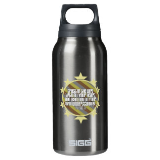 Proverbs 3:5 (Gold) Insulated Water Bottle
