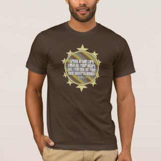 Proverbs 3:5 (Gold) Men's Basic Crew Neck T-Shirt