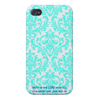 Proverbs 3:5  Modern Iphone case with Bible verse