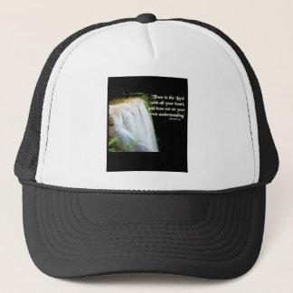 Proverbs 3:5 trucker hat