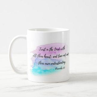 Proverbs 3:5 Trust in the Lord Coffee Mug