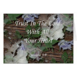Proverbs 3:5. Trust In The Lord Greeting Card