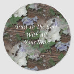 Proverbs 3:5. Trust In The Lord Stickers