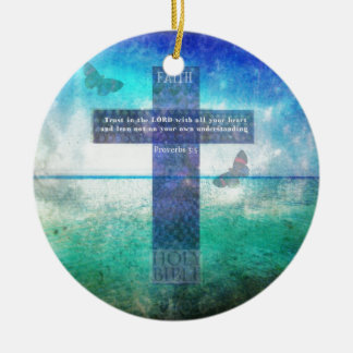 Proverbs 3 5 Trust in the Lord with all your heart Ornaments