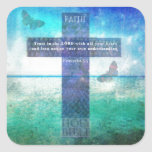 Proverbs 3:5 Trust in the Lord with all your heart Square Sticker
