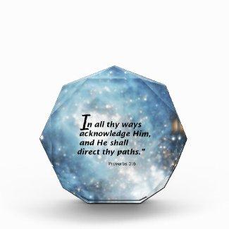 Proverbs 3:6 award