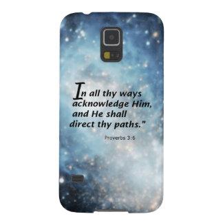 Proverbs 3 6 samsung galaxy nexus cases