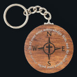 "Proverbs 3:6 Direct Your Paths Bible Verse Compass Keychain<br><div class=""desc"">Black compass design with a cross in the middle, and white letters on a wood-grain background. A great reminder to acknowledge Him. Proverbs 3:6 &quot;In all your ways acknowledge Him, and He shall direct your paths.&quot; Not quite what you&#39;re looking for? Feel free to contact me if you have a...</div>"