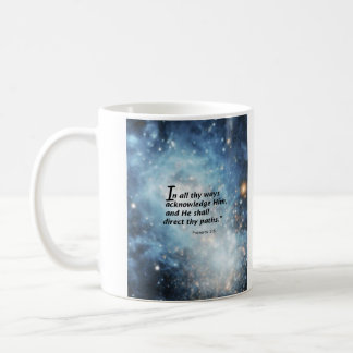 Proverbs 3:6 coffee mug