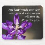Proverbs 4:23 mousepad