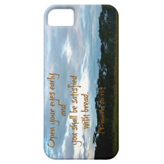 Proverbs Bible verse Open your eyes iPhone SE/5/5s Case