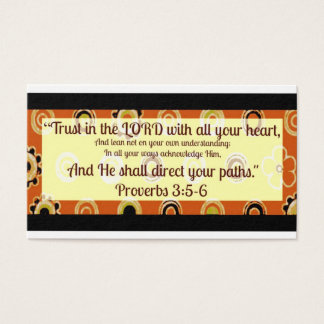 Proverbs Business Card Ready to be Personalized