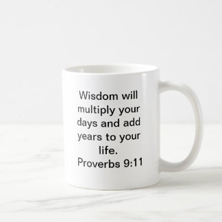 Proverbs for the Wise Coffee Mug