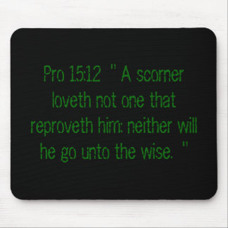 Proverbs MOusepad