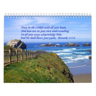 Proverbs Ocean Path Calendar