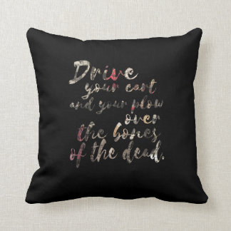 Proverbs of Hell Throw Pillow