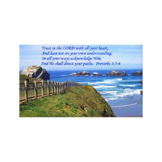 Proverbs Path Canvas Photography Gallery Wrap Canvas