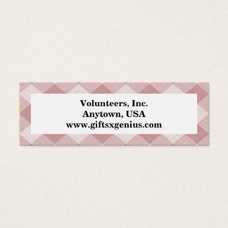 Proverbs Scripture Volunteer Appreciation Mini Business Card