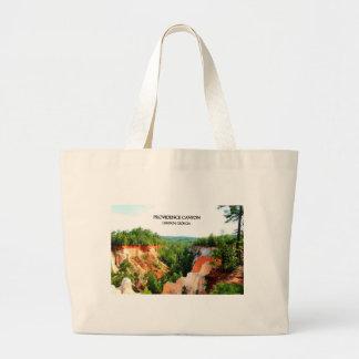 PROVIDENCE CANYON - Lumpkin, Georgia Canvas Bags