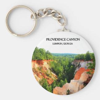PROVIDENCE CANYON - Lumpkin, Georgia Basic Round Button Keychain