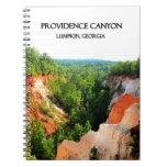 PROVIDENCE CANYON - Lumpkin, Georgia Spiral Notebook
