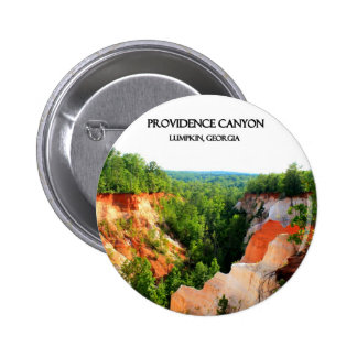PROVIDENCE CANYON - Lumpkin, Georgia Pinback Button