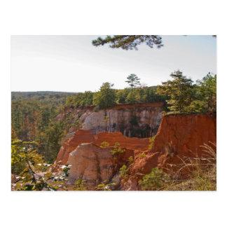 Providence Canyon Postcard