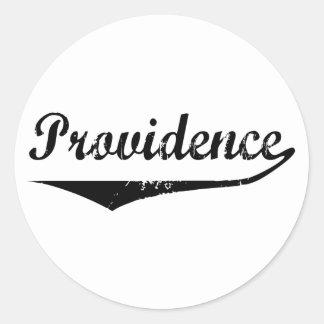 Providence Classic Round Sticker