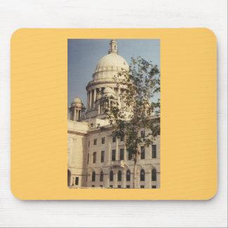 Providence, edificio capital de Rhode Island Alfombrilla De Raton