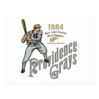 Providence Grays of Rhode Island Postcard