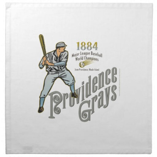 Providence Grays of Rhode Island Printed Napkins