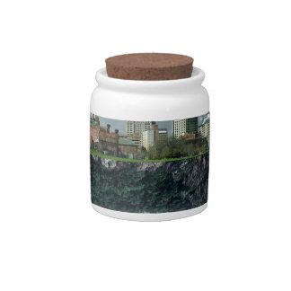 Providence Island Snow Globe Candy Jars