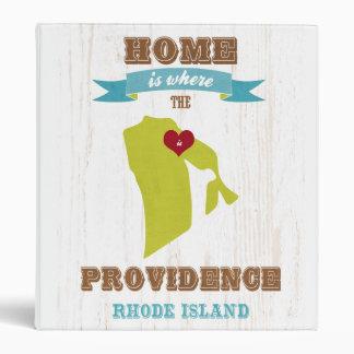 Providence mapa de Rhode Island - casero es donde