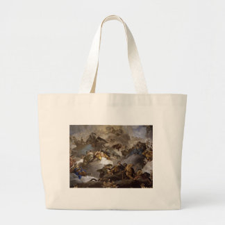Providence Presiding over Virtues and Faculties Large Tote Bag