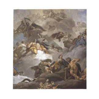 Providence Presiding over Virtues and Faculties Notepad