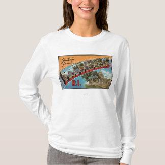 Providence, Rhode Island (Capital Building) T-Shirt