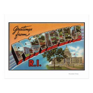 Providence, Rhode Island (edificio capital) Tarjetas Postales