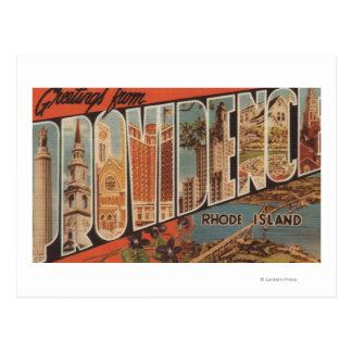 Providence, Rhode Island - escenas grandes 2 de la Tarjeta Postal