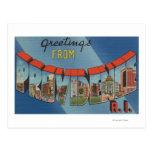 Providence, Rhode Island - escenas grandes de la Tarjetas Postales