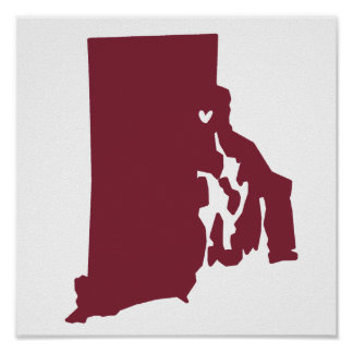 Providence, Rhode Island Love Poster