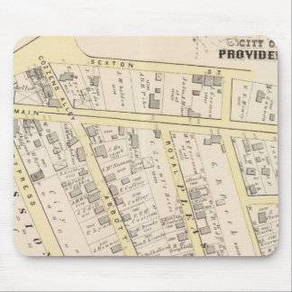 Providence Rhode Island Map 2 Mouse Pad