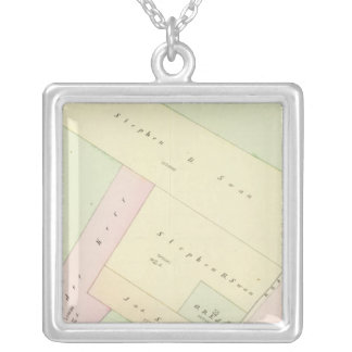 Providence Rhode Island Map Necklace