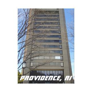 Providence, Rhode Island Skyscraper Canvas Print