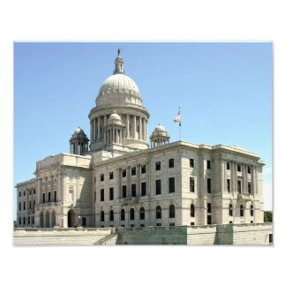 Providence Rhode Island State House Photographic Print