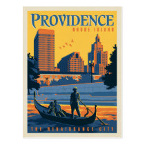 Providence, Rhode Island | The Renaissance City Postcard