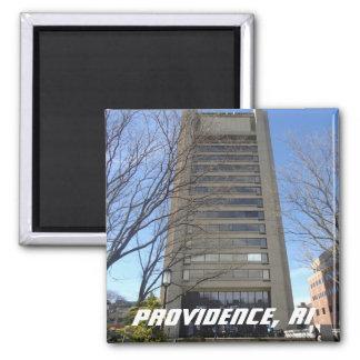 Providence, RI - College Hill 2 Inch Square Magnet