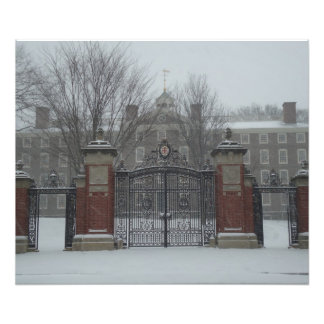 Providence, RI East Side Snow Scene Photo Print