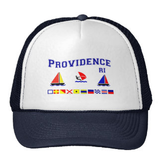 Providence RI Signal Flags Trucker Hat